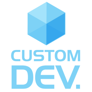Logo_Custom_Dev_carré_full_HD_transp